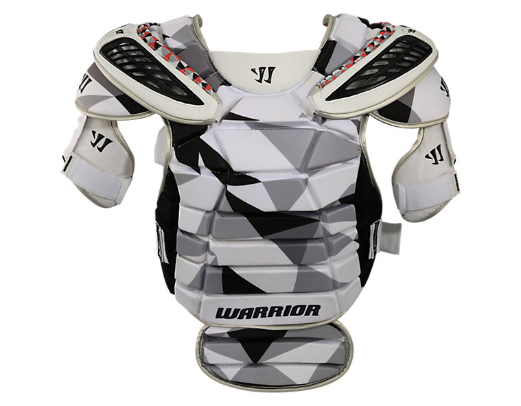 Lockdown Goalie Guard, Black with White & Grey