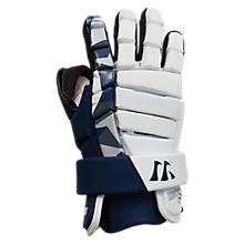 Lockdown Goalie Glove, Navy with White