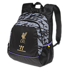 LFC Large Backpack 2013/14, Grey with Purple & Gold