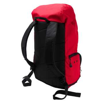 LFC Large Backpack, High Risk Red with Black