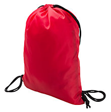 LFC Gym Bag, High Risk Red with Amber Yellow