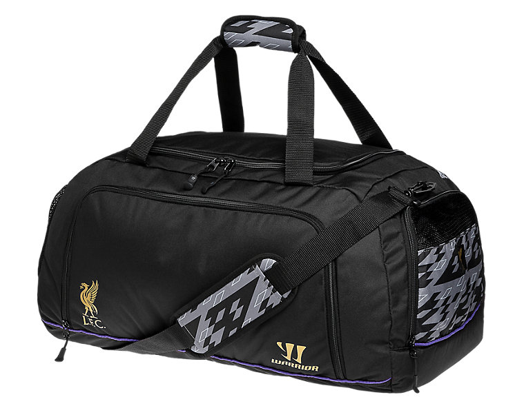 Liverpool Large Holdall 2013/14, Anthracite with Prism Violet & Gold