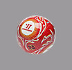Mini Football, High Risk Red with White & Amber Yellow
