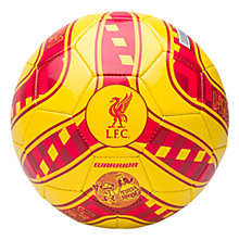 LFC Kop Mini Ball, Cyber Yellow with High Risk Red