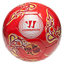 LFC Training Football, High Risk Red with White & Amber Yellow