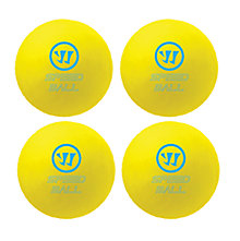 Mini Speed Ball 4pk, Yellow