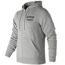 Warrior Street Hockey Zip Hoodie, Heather Charcoal