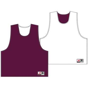 Youth Camp Pinnie, Maroon with White