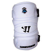 Nation 11 Arm Pad, White with Black
