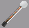 Pocket Pounder, Silver with Orange & White