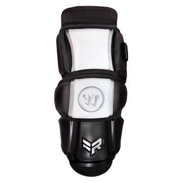 Rabil Arm Pad, Black with White & Silver
