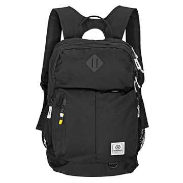 Q10 Backpack, Black with Grey