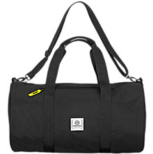 Q10 Duffle Bag, Black with Grey