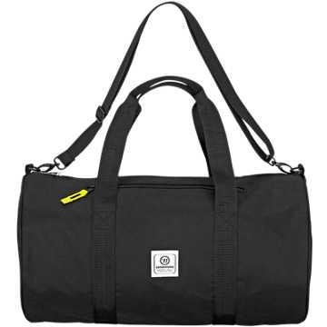 Q10 Duffle Bag, Black with Grey