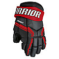 QRE3 JR Glove, Black with Red