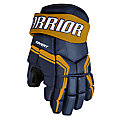 QRE3 SR Glove, Navy with Sports Gold