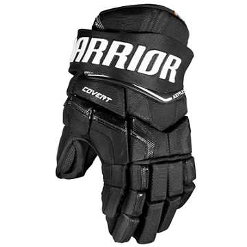 QRE YTH Glove, Black with White