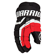 Covert QR4 Gloves, Black with Red & White