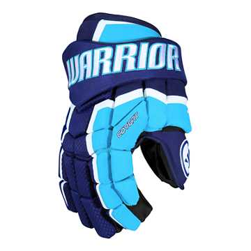 Covert QRL3 Sr. Glove , Dark Royal with Carolina Blue & White