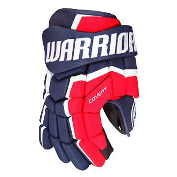 Covert QRL4 Sr. Glove , Navy with Red & White