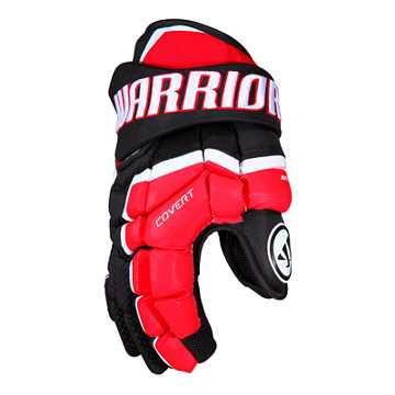 QRL JR Glove, Black with Red & White