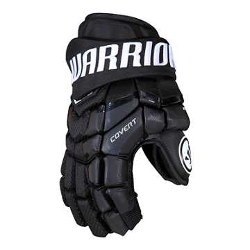 Covert QRL Senior Glove, Black with White