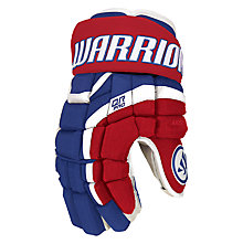 Covert QR Pro Gloves, Royal Blue with Red & White