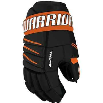 Alpha QX3 JR Glove, Black with Orange