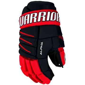 Alpha QX3 YTH Glove, Navy with Red