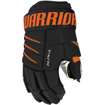 Alpha QX4 JR Glove, Black with Orange