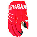 Alpha QX4 SR Glove, Red with White