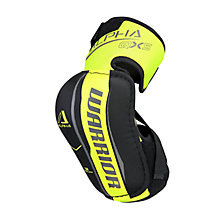 Alpha QX5 SR Elbow Pads, Black with Yellow & Grey