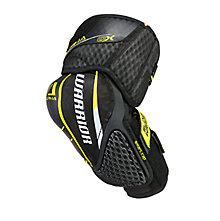 Alpha QX SR Elbow Pads, Black with Yellow
