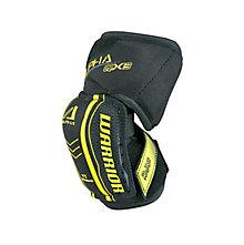 Alpha QX YTH Elbow Pad, Black with Yellow