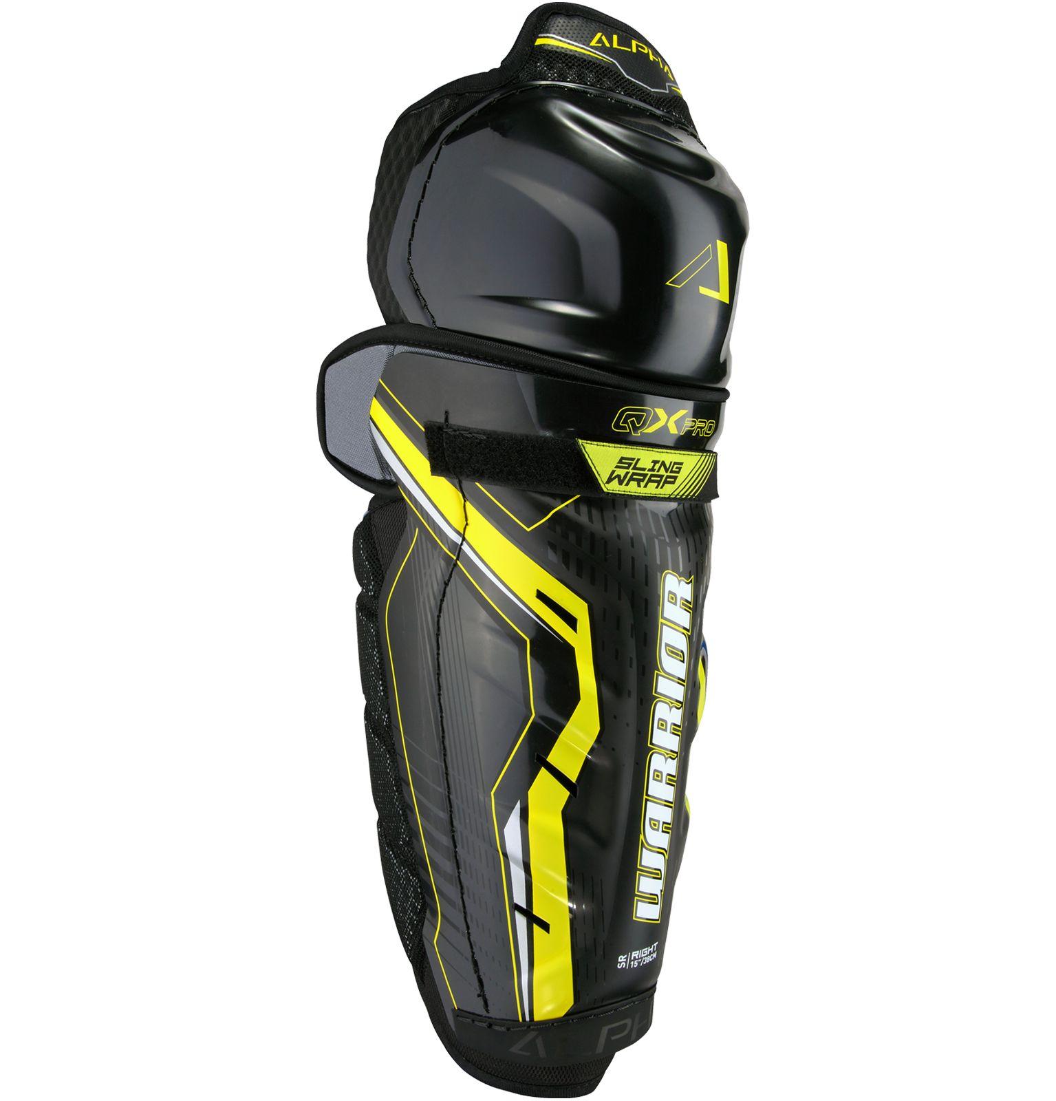 d76e83d929d Warrior - Alpha QX Pro JR Shin Guards - -