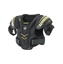 Alpha QX YTH Shoulder Pad, Black with Yellow