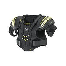 Alpha QX YTH Shoulder Pad, Black with Yellow