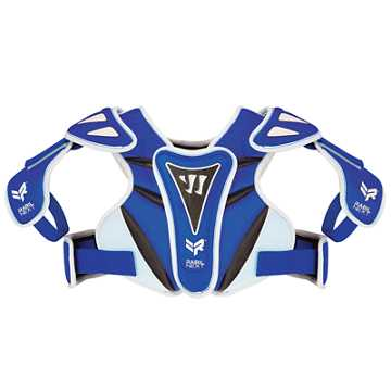 Rabil Next Shoulder Pad, Royal Blue with White