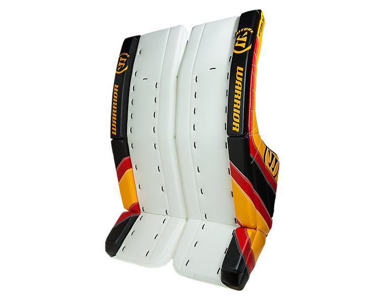 Ritual G2 Custom Leg Pad, White with Black & Red