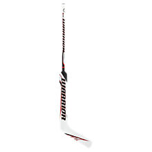 Ritual Goalie Stick, White with Black & Red