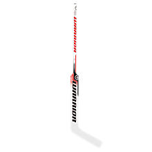 Ritual V3 Goalie Stick, White with Red