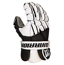 Regulator Light Lacrosse Glove , Black with White