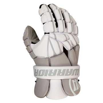 Regulator Light Lacrosse Glove , Grey with White