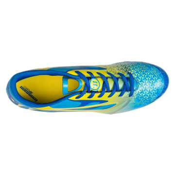 Superheat Combat FG - Kids, Vision Blue with Blue & Cyber Yellow