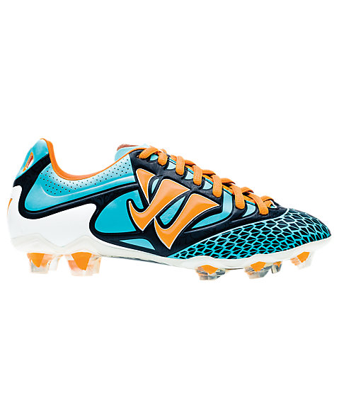 Skreamer Combat FG - Kids, Blue Radiance with Bright Marigold & Insignia Blue