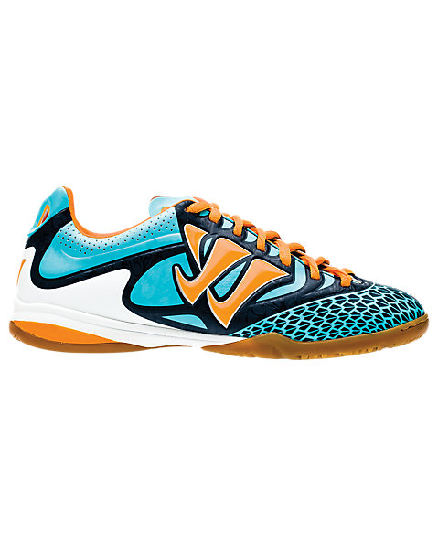 Skreamer Combat Indoor - Kids, Blue Radiance with Bright Marigold & Insignia Blue
