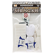 Hard mesh attack/defense string kit , White