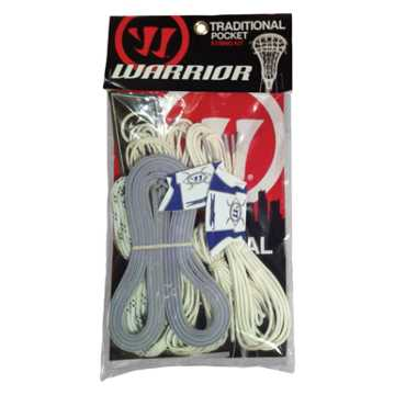 Traditional attack/defense string kit, White