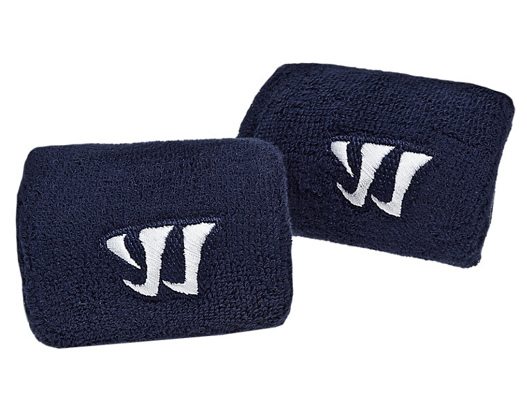 Cuff Slash Guards, Navy with White