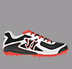 Blitz Low Profile Turf, Black with Pearlized White & Red